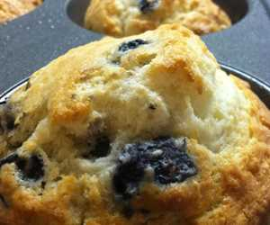 House-made blueberry muffins